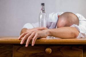 Alkohol działa usypiająco